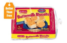Bridford biscuits at SR