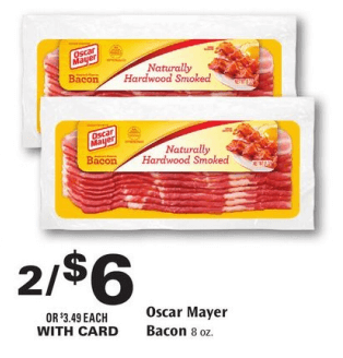 Oscar mayer bacon coupons 2018