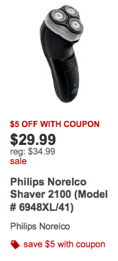 image about Philips Norelco Printable Coupon named $10 within just Fresh Philips Norelco Discount codes + Discounts at Concentration