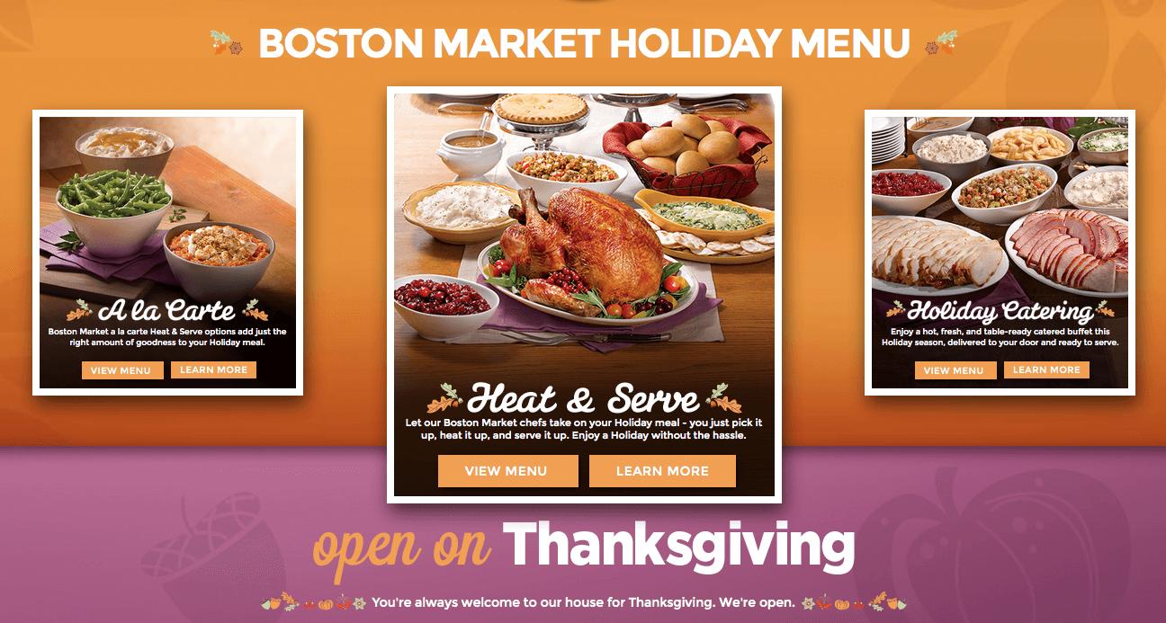 Restaurants open on thanksgiving day 2016living rich with for What restaurants are open on thanksgiving