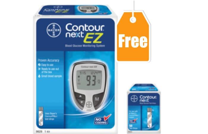 Free contour glucose meter coupon