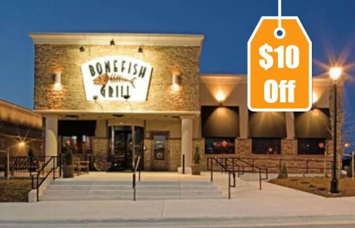 New Bonefish Grill Coupon 10 Off Dinnerliving Rich With Coupons