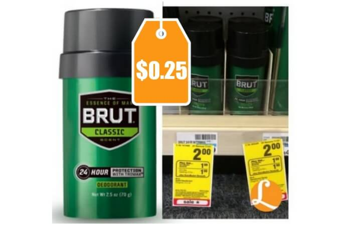 Brut deodorant coupons 2019