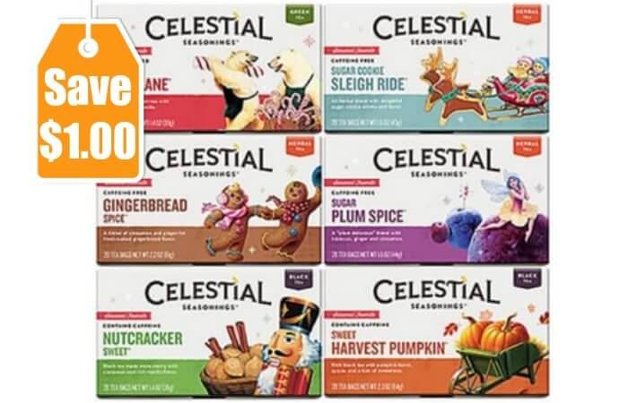 Printable Coupons and Deals – Celestial Seasonings Tea ...