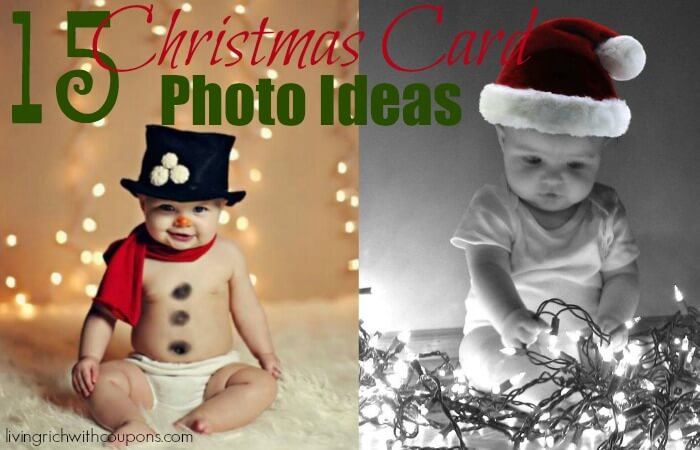 15 Unique Christmas Card Photo IdeasLiving Rich With Coupons®