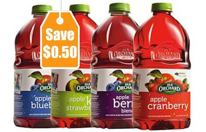 New $0.50/1 Old Orchard Juice Coupon - $0.69 at ShopRite & More!Living Rich With Coupons®