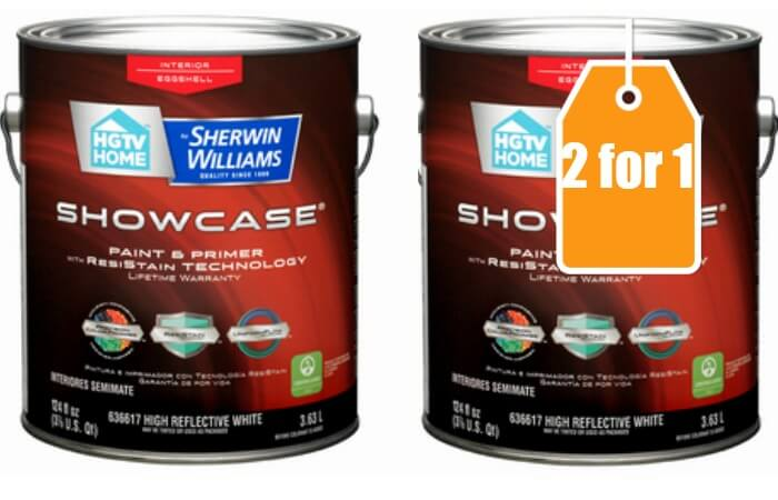Lowes 2 For 1 Select Hgtv Home By Sherwin Williams