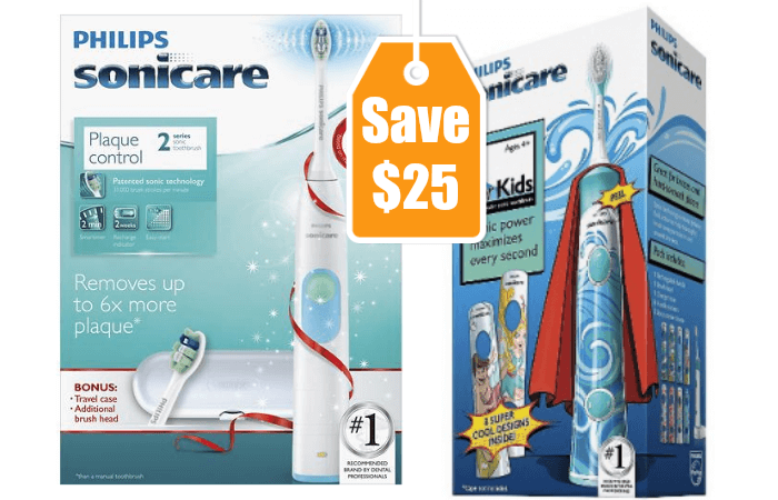 photograph regarding Sonicare Coupon Printable titled $25 inside Refreshing Philips Sonicare Coupon codes + Bargains at Walmart