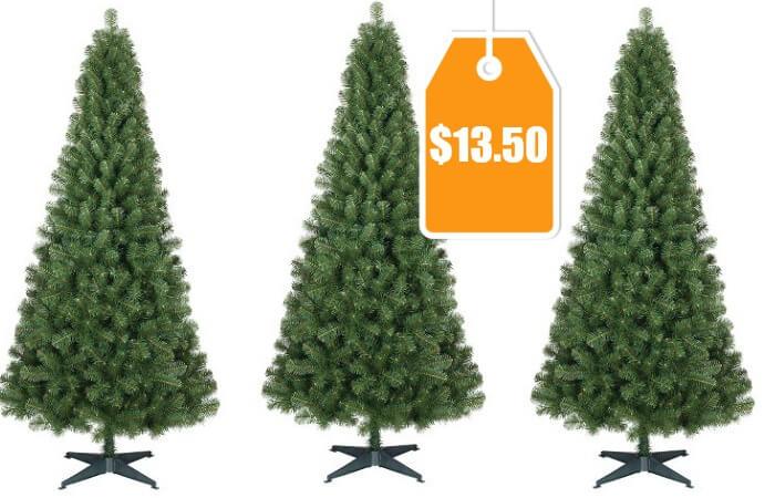 6ft Alberta Spruce Artificial Christmas Tree just $13.50 (Reg. $27 ...
