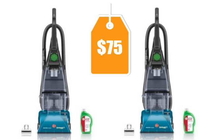 Hoover SteamVac Carpet Cleaner with Clean Surge $75 (Reg ...