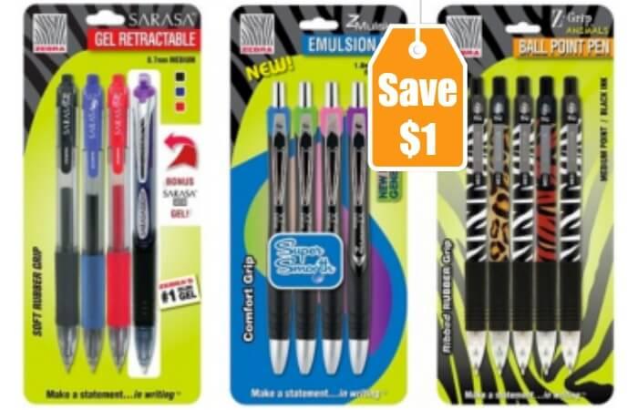 Zebra writing instruments coupon