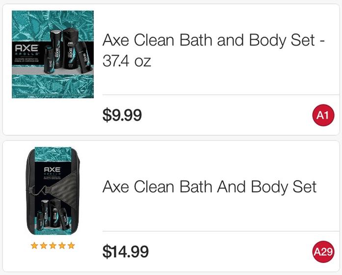 Axe gift set coupons december 2018