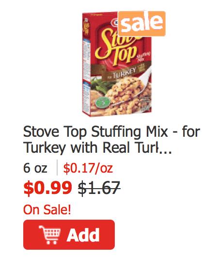 Stove top coupons