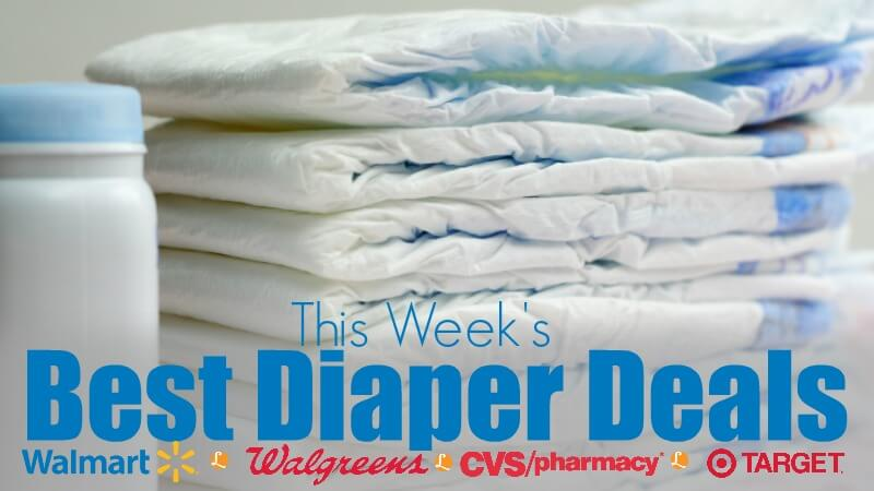 Best Diaper Deals – Week of 10/15/17