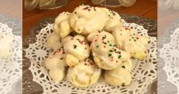 italian knott cookies