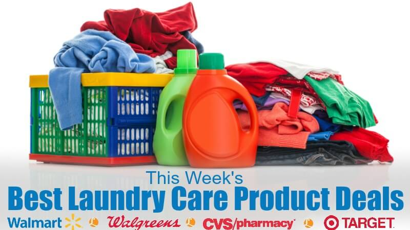 laundry care product deals