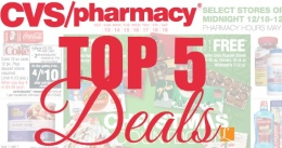 top 5 deals at cvs