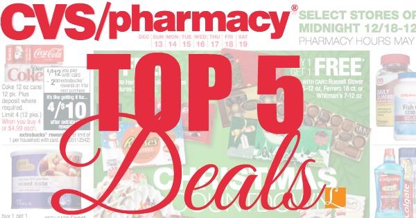 top 5 deals at cvs