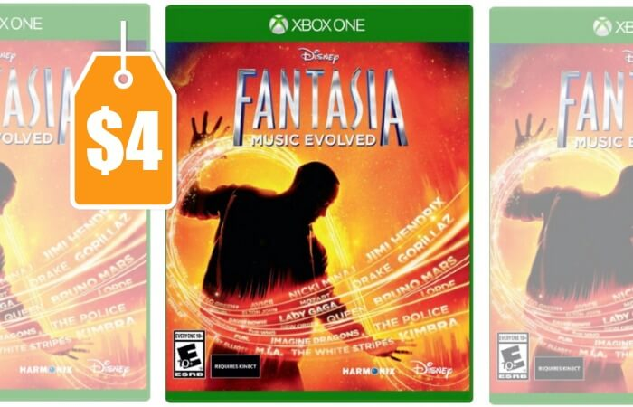 disney fantasia music evolved xbox one 4 reg 39 99 living rich