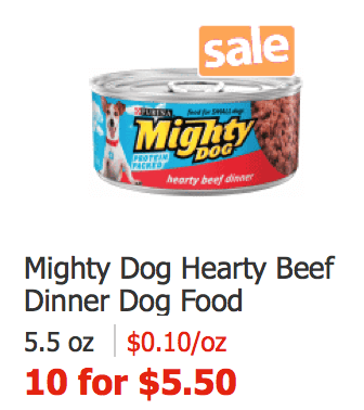 Where Can I Buy Mighty Dog Food