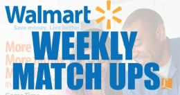 WALMART WEEKLY MATCH UPS