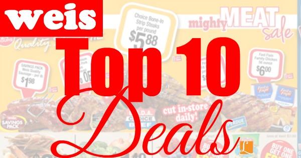 Weis Top 10 Deals This Week