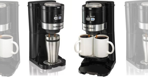 Coffee Maker Grind And Brew Single Serve : Hamilton Beach Single Serve Grind and Brew Coffee Maker USD 29.88 (Reg. USD 82.29)Living Rich With ...