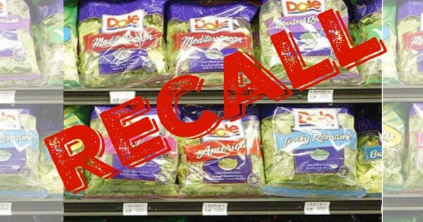 Important! Dole Salad Recall Due to Listeria Linked to Illness and Death