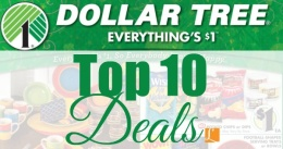 dollar tree top 10 deals