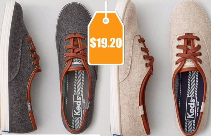 62782db2721d KEDS Champion Wool Sneaker  19.20 (Reg.  50)Living Rich With Coupons®