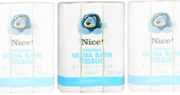 $5 in New Nice! Brand Coupons - Toilet Paper Only $0.25 Per Double ...