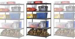 stockpile shelving