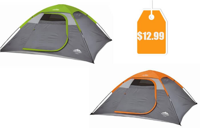 C&ing Deal  sc 1 st  Living Rich With Coupons & Northwest Territory Riveru0027s Edge Dome Tent - Orange or Green ...
