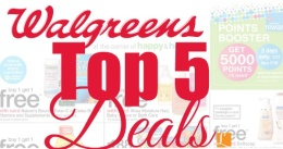 walgreens top 5 deals this week