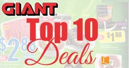 Best deals at Giant this week