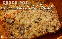 Crock Pot Banana Nut Bread Recipe