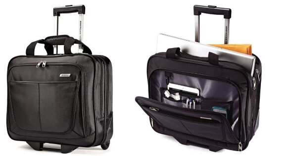 American tourister wheeled mobile office for reg free shipping living rich - American tourister office bags ...