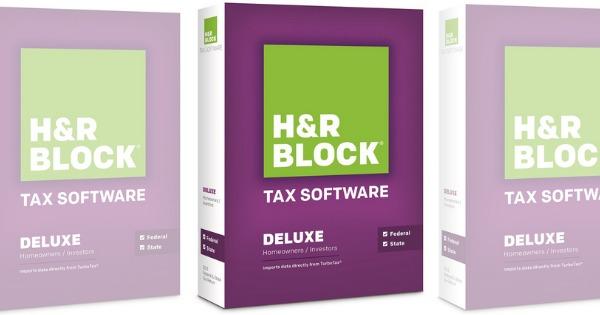 New 5 1 HR Block Tax Software Coupon Deals At Staples Walmart