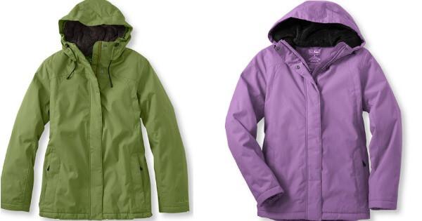 9febc7e9f LL Bean Women's, Petite and Plus Size Winter Warmer Jacket $39.99 ...