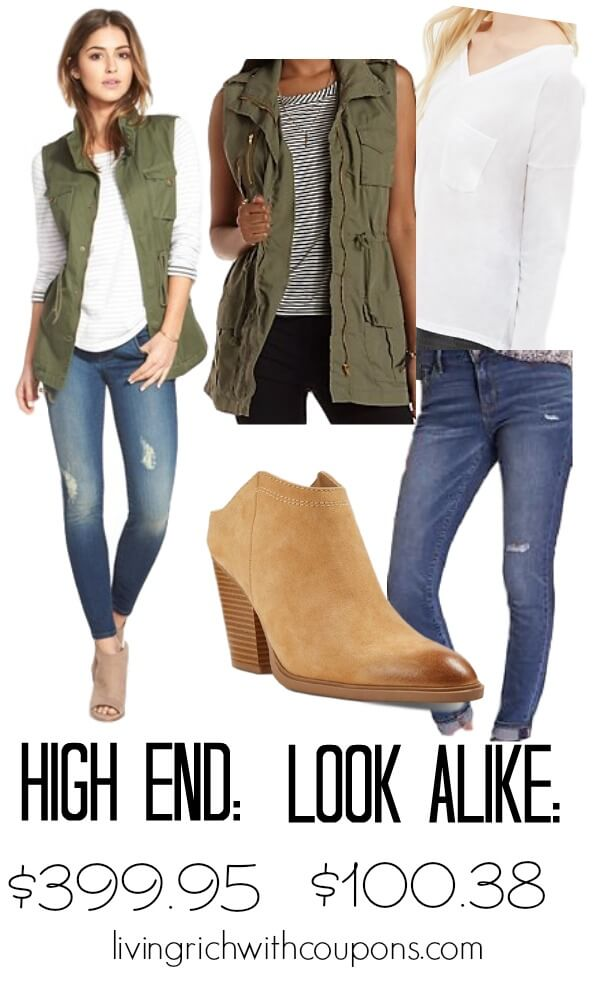 Fashion look for less