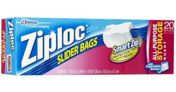 Ziploc bag coupons target