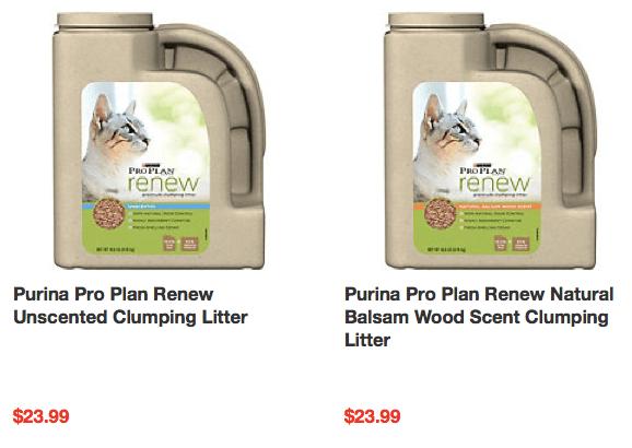 New $10/2 Purina Pro Plan Renew Cat Litter Coupon & Deals ...
