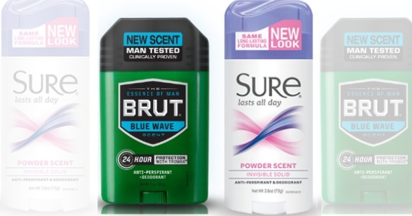 Brut/Sure Coupons