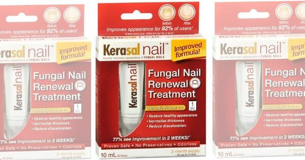 New 7 1 Kerasal Nail Fungal Treatment Coupon Dealsliving