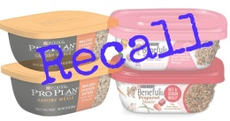 purina dog food recall