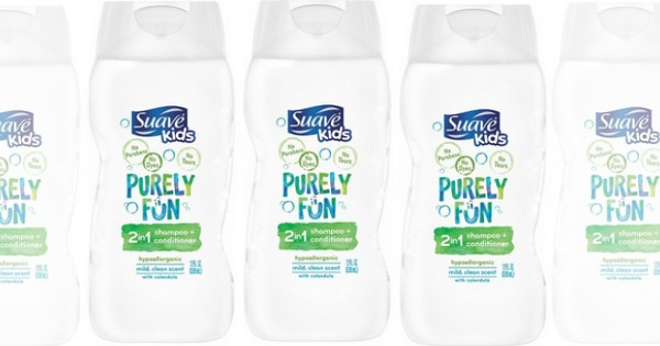 Suave Kids Purely Fun Hair Care Products