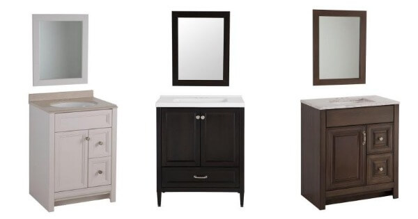 While Supplies Last! Home Depot: Bathroom Vanity and Mirrors ...