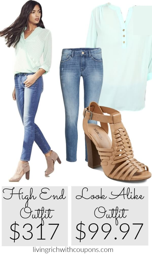 Living Rich On Lessliving Rich On Less: High Fashion Look For Less {save Over $217}Living Rich