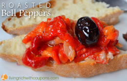 Roasted Bell Peppers recipe