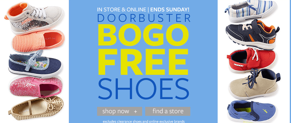 Carter's: Buy One Get One Free ShoesLiving Rich With Coupons®